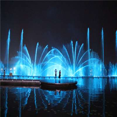 China Factory Digital Colorful Water Fountain